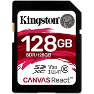 Kingston Canvas React SDXC 128GB A1 UHS-I V30 - Speicherkarte