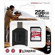 Kingston Canvas React Plus SDXC 256 GB + SD-Adapter und Kartenleser - Speicherkarte