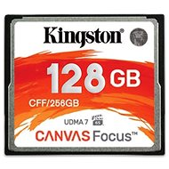Kingston Kompakt Flash 128 GB Leinwandfokus - Speicherkarte