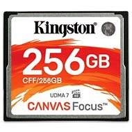 Kingston Kompakt Flash 256 GB Leinwandfokus - Speicherkarte