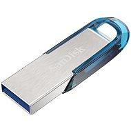 SanDisk Ultra Flair 64GB tropická modrá - USB Stick