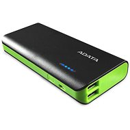 ADATA PT100-Power-Bank 10000mAh schwarz-grün - Power Bank