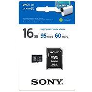 Sony MicroSDHC 16 Gigabyte Class 10 + SD-Adapter - Speicherkarte