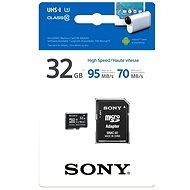Sony MicroSDHC 32 Gigabyte Class 10 + SD-Adapter - Speicherkarte