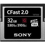 SONY G SERIES CFAST 2.0 32 Gigabyte - Speicherkarte