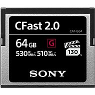 SONY G SERIES CFAST 2.0 64 Gigabyte - Speicherkarte