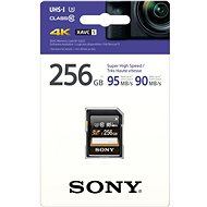 Sony SDXC 256 Gigabyte Class 10 Pro UHS-I 95 MB / s - Speicherkarte