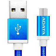 ADATA microUSB 1 m blau - Datenkabel