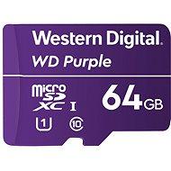 WD Purple QD101 SDXC 64GB - Speicherkarte