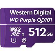 WD Purple QD101 SDXC 512GB - Speicherkarte