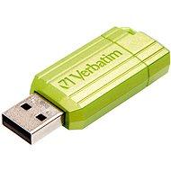 Verbatim Store 'n' Go PinStripe 16GB, Eukalyptusgrün - USB Stick