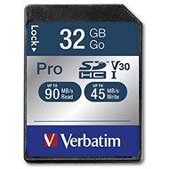 VERBATIM Pro SDHC 32GB - Speicherkarte