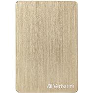 VERBATIM Store'n'Go ALU Slim 1TB, golden - Externe Festplatte