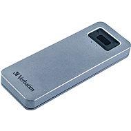 VERBATIM Executive Fingerprint Secure SSD 512 GB - grau - Externe Festplatte