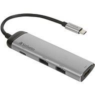 VERBATIM USB-C ADAPTER USB 3.1 GEN 1/ 2 x USB 3.0/ HDMI - USB Hub