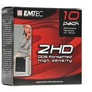"""EMTEC 3.5""""/1.44MB, pack of 10pcs - Floppy Disk"""