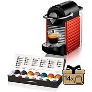 Krups Nespresso Pixie Elektro Red XN3006 - Kapsel-Kaffeemaschine