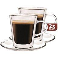 Maxxo Termogläser DF909 + 2x Untertasse - Gläser