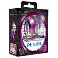 PHILIPS H4 ColorVision Purple, patice P43t-38, 2 ks - Auto-Glühlampe