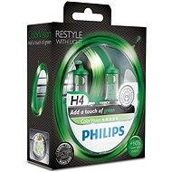 PHILIPS H4 ColorVision Green, patice P43t-38, 2 ks - Auto-Glühlampe