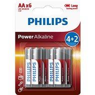 Einwegbatterie Philips LR6P6BP 6 Stück in Packung