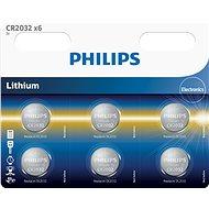 Batterie Philips CR2032P6 6 Stück in einem Paket - Akku