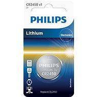 Philips CR2450 1 Stk in der Packung - Knopfbatterie