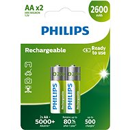 Philips R6B2A260 2 Stk. in der Packung - Ladebatterie