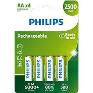Philips R6B4RTU25 4 Stück pro Packung - Akku