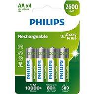 Philips R6B4B260 4 Stück - Akku