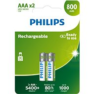 Philips R03B2A80 2er-Pack - Ladebatterie