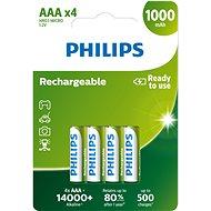 Philips R03B4RTU10 4 Stück - Akku