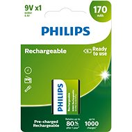 Philips 9VB1A17 1 Stück pro Packung - Ladebatterie