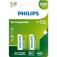 Philips R14B2A300 2er-Pack - Akku