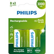 Philips R20B2A300 2er-Pack - Akku