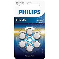 Philips ZA675B6A 6 Stück im Paket - Batterie