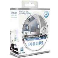 PHILIPS H1 WhiteVision, 55W, patice PX26d, 2ks - Auto-Glühlampe