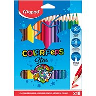 MAPED Color Peps, 18 Farben, dreieckig - Bundstifte