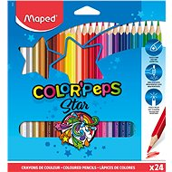MAPED Color Peps 24 Farben, dreieckig - Bundstifte