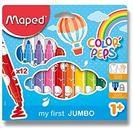 MAPED Color Peps Maxi 12 Farben - Filzstifte