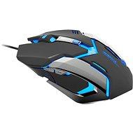 E-Blue Auroza Gaming, schwarz - Gaming-Maus