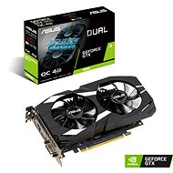 ASUS DUAL GeForce GTX1650 O4G - Grafikkarte