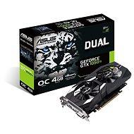 ASUS DUAL Geforce GTX 1050 Ti O4G V2 - Grafikkarte