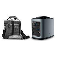 Ladestation EcoFlow RIVER370 Portable Power Station Black + Element Proof Protective Case