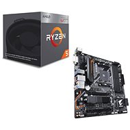 GIGABYTE B450 AORUS M + CPU AMD RYZEN 5 2400G - Set