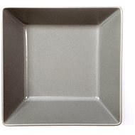 ELITE Teller tief quadratförmig 17,5x17,5cm grau, Set 6 Stück - Teller