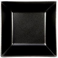 ELITE Teller tief quadratförmig 17,5x17,5cm schwarz, Set 6 Stück - Teller