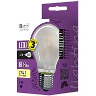 EMOS LED Glühbirne Filament matt A60 A++ 6,5W E27 warmes Weiß - LED-Lampe