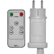 EMOS Netzadapter mit Fernbedienung zum Verbinden von Lichterketten mit bis zu 800 LEDs - Netzadapter