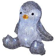 EMOS LED Weihnachts-Pinguin, 20 cm, 3 × AA, Innen, kaltweiss, Timer - Weihnachtsbeleuchtung